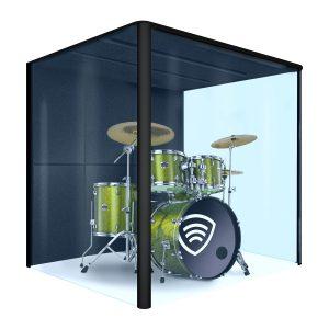 Hier ist ein Bild eines Klangschild Cube zu sehen.
